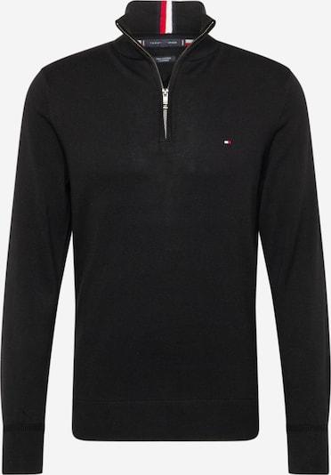 TOMMY HILFIGER Pulover u mornarsko plava / crvena / crna / bijela, Pregled proizvoda