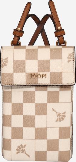 JOOP! Protection pour Smartphone 'Piazza Pippa' en beige / marron, Vue avec produit