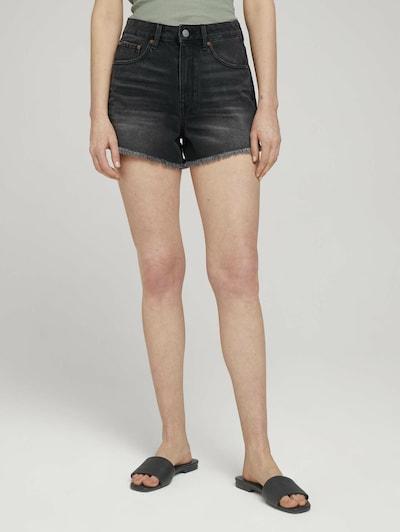 TOM TAILOR DENIM Jeans in dunkelgrau, Modelansicht