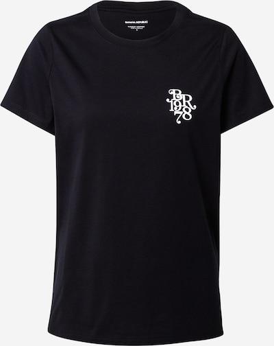 Banana Republic Shirt in schwarz / weiß, Produktansicht
