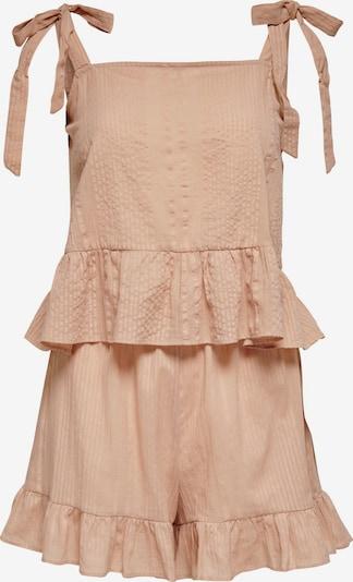 ONLY Korte pyjama 'Sascha' in de kleur Oudroze, Productweergave