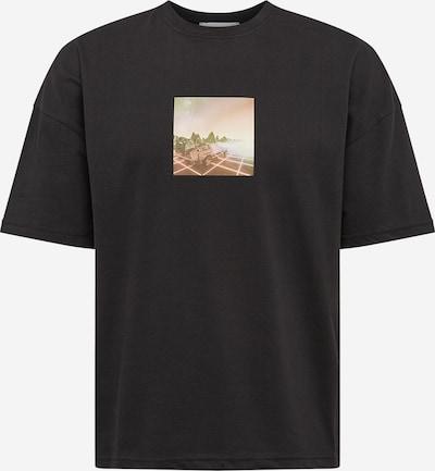 Tricou NU-IN pe culori mixte / negru, Vizualizare produs