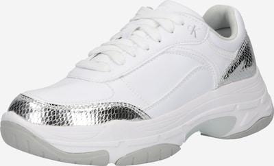 Sportbačiai be auliuko iš Calvin Klein Jeans , spalva - sidabrinė / balta, Prekių apžvalga