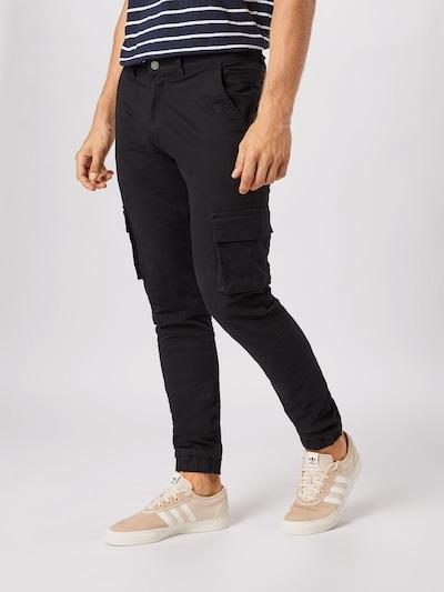 Laisvo stiliaus kelnės iš Denim Project , spalva - juoda, Modelio vaizdas