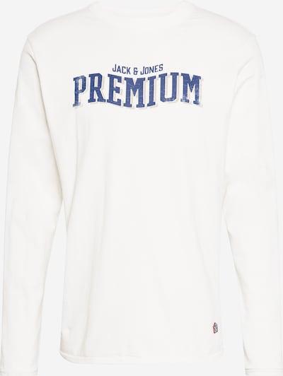 JACK & JONES Shirt 'BLUSCOTTY' in de kleur Blauw / Offwhite, Productweergave
