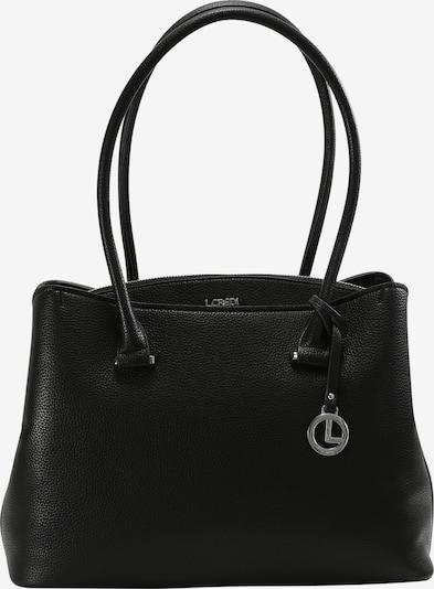 L.CREDI Shopper 'Fabienne' in schwarz, Produktansicht