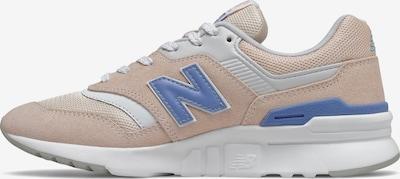 new balance Sneaker in blau / pastellpink / weiß, Produktansicht