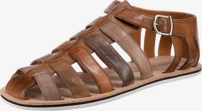 MELVIN & HAMILTON Sandały w kolorze ciemny beż / brązowy / ciemnoszarym, Podgląd produktu