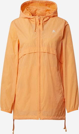 BURTON Veste outdoor 'HAZLETT' en orange / blanc, Vue avec produit