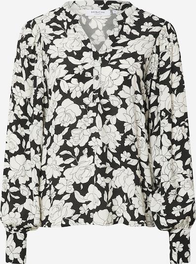 MOSS COPENHAGEN Bluse 'Deona Morocco' in schwarz / weiß, Produktansicht
