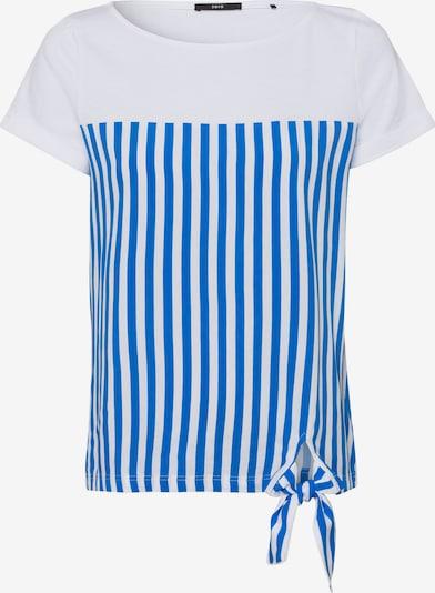 zero Shirt in blau, Produktansicht