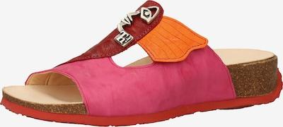 THINK! Pantolette in beige / hellbraun / orange / koralle / pink, Produktansicht