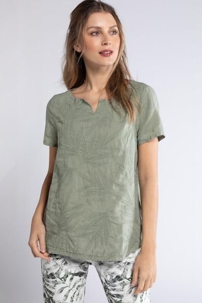 Gina Laura Tunika in oliv, Modelansicht