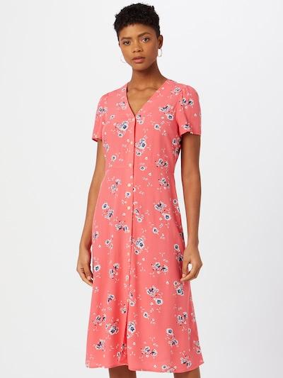 GAP Vestido camisero en mezcla de colores / coral, Vista del modelo