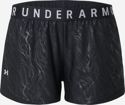 UNDER ARMOUR Sportbroek 'Play Up' in de kleur Zwart / Wit, Productweergave