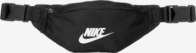 Borsetă 'Heritage' Nike Sportswear pe negru / alb, Vizualizare produs