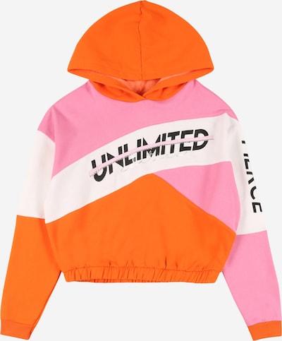 Felpa River Island di colore arancione scuro / rosa / bianco, Visualizzazione prodotti