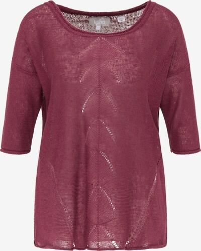Usha Pullover in bordeaux, Produktansicht