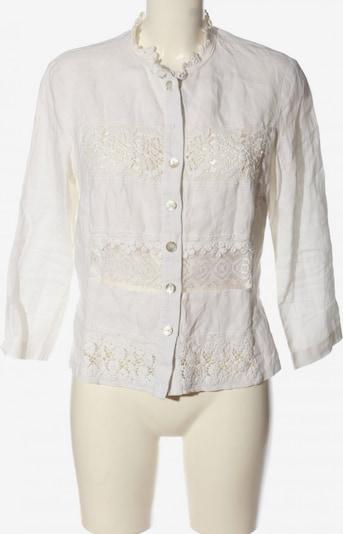 Basset Blusenjacke in L in weiß, Produktansicht