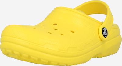 Crocs Pantoufle en citron vert, Vue avec produit