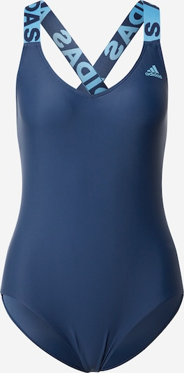 ADIDAS PERFORMANCE Sports swimsuit in Night blue, Item view