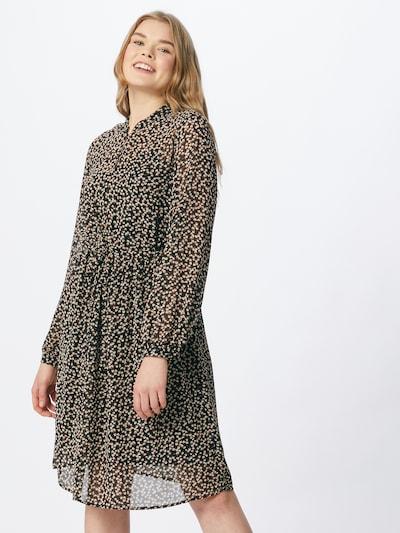 OBJECT Kleid 'MILA' in schwarz / weiß, Modelansicht