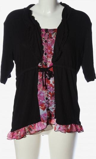 Gelco Long-Bluse in XXXL in pink / schwarz / weiß, Produktansicht
