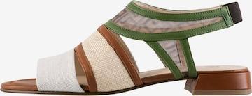 Högl Sandale 'Raffia' in Mischfarben