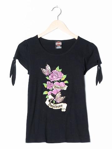 Harley Davidson T-Shirt in S in Schwarz