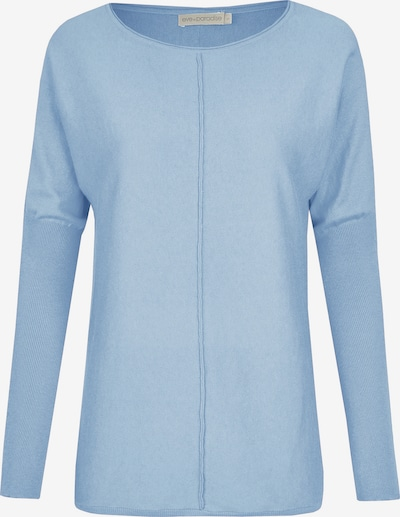 eve in paradise Pullover in hellblau, Produktansicht