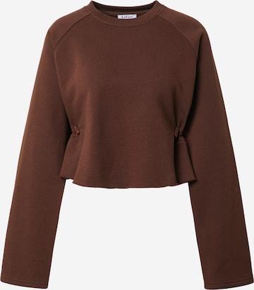 LeGer by Lena Gercke Sweatshirt 'Franca' in Brown