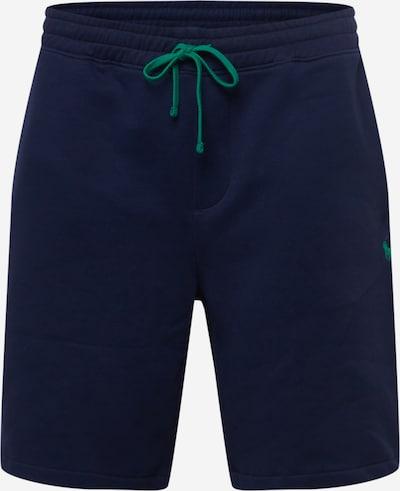 Pantaloni Polo Ralph Lauren Big & Tall pe albastru închis / verde iarbă, Vizualizare produs