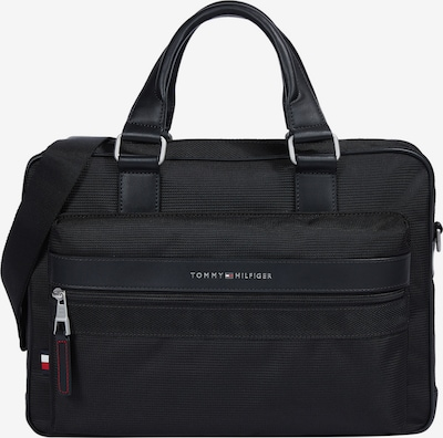 TOMMY HILFIGER Laptop bag in navy / fire red / black / white, Item view