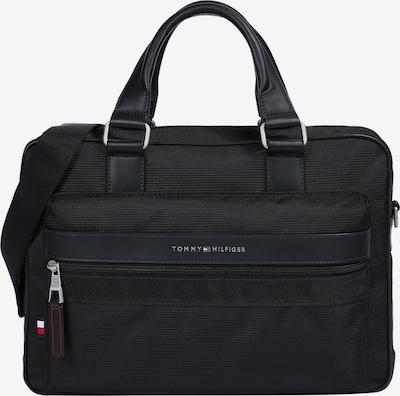 Borsa per laptop TOMMY HILFIGER di colore navy / rosso fuoco / nero / bianco, Visualizzazione prodotti