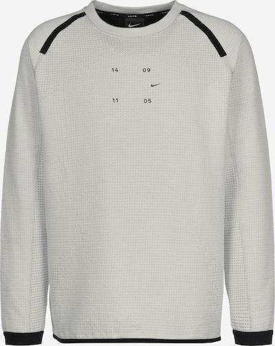 NIKE Sweatshirt 'Tech Pack' in grau / schwarz, Produktansicht