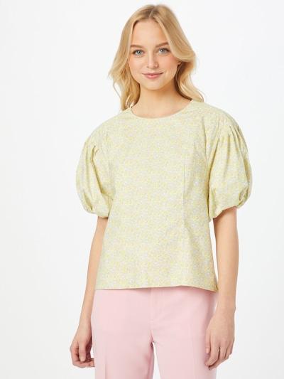 Birgitte Herskind Pluus 'Bell' helesinine / kollane / roosa / valge, Modellivaade