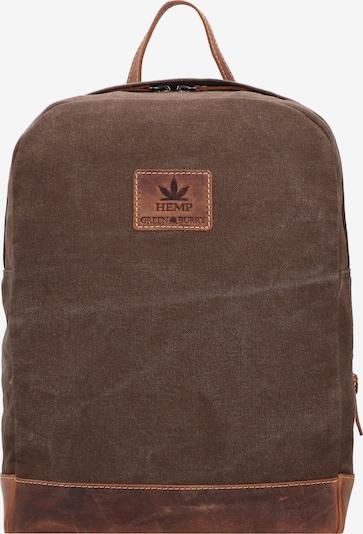 GREENBURRY Rucksack in braun, Produktansicht