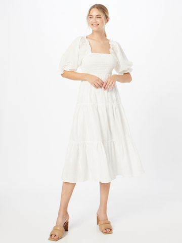 In The Style Summer Dress in White