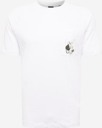 Only & Sons Shirt 'VITAL' in kitt / dunkelgrau / weiß, Produktansicht
