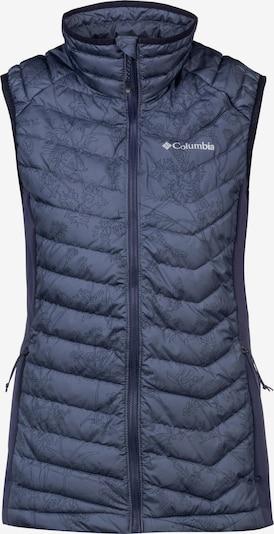 COLUMBIA Outdoorweste 'Powder Pass™' in blau, Produktansicht