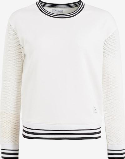 khujo Sweatshirt ' Alejandra ' in schwarz / weiß, Produktansicht