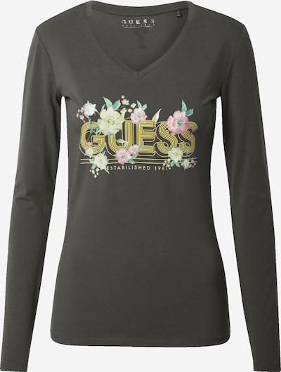GUESS Тениска 'Juniper' в Каки / пъстро, Преглед на продукта