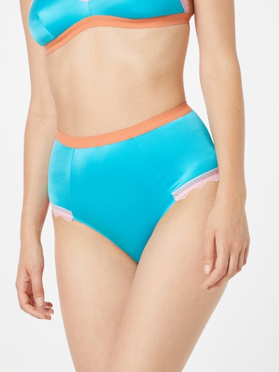 Pantaloncini per bikini 'SIENNA' Dora Larsen di colore blu / rosa: Vista frontale