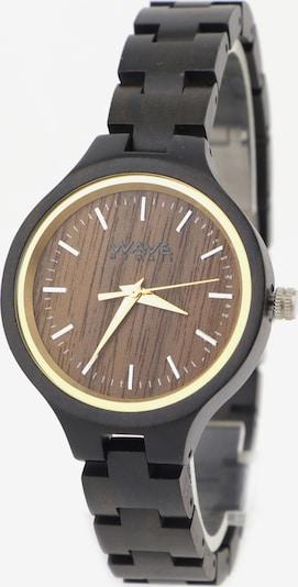 Wave Hawaii Holz-Armbanduhr ' Ebenholz ' in schwarz, Produktansicht