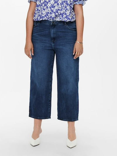 ONLY Carmakoma Jeans 'Sunny Life' in blue denim, Modelansicht