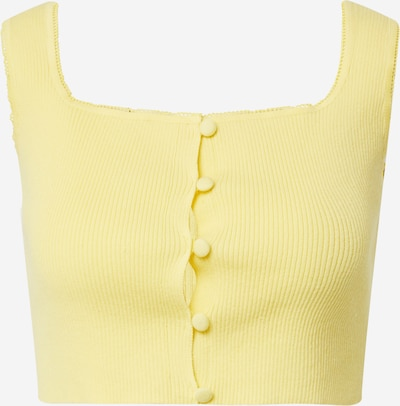 GLAMOROUS Knitted top in Yellow, Item view
