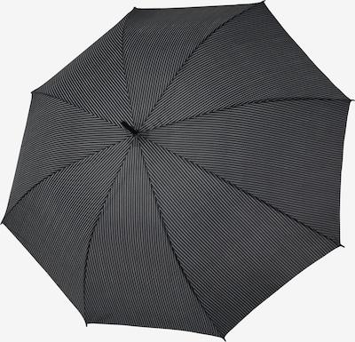 Doppler Regenschirm 'Stockholm ' in grau / schwarz, Produktansicht