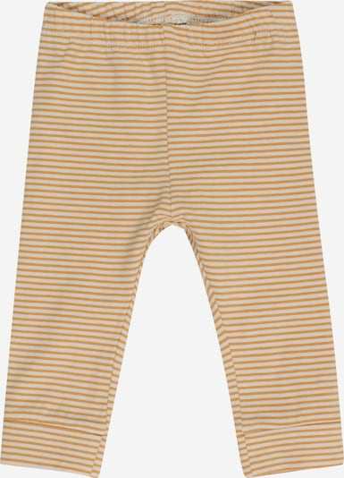 NAME IT Broek 'FIPAN' in de kleur Goudgeel / Wit, Productweergave