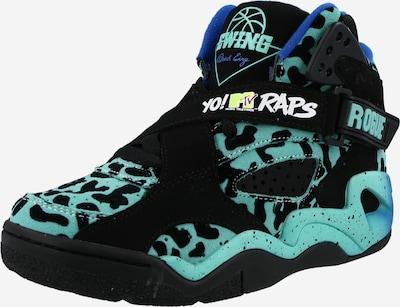 Patrick Ewing Sneaker in aqua / schwarz, Produktansicht
