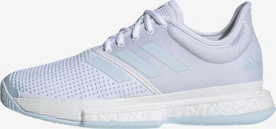 ADIDAS PERFORMANCE Sportschoen 'SoleCourt' in de kleur Pastelblauw / Wit, Productweergave